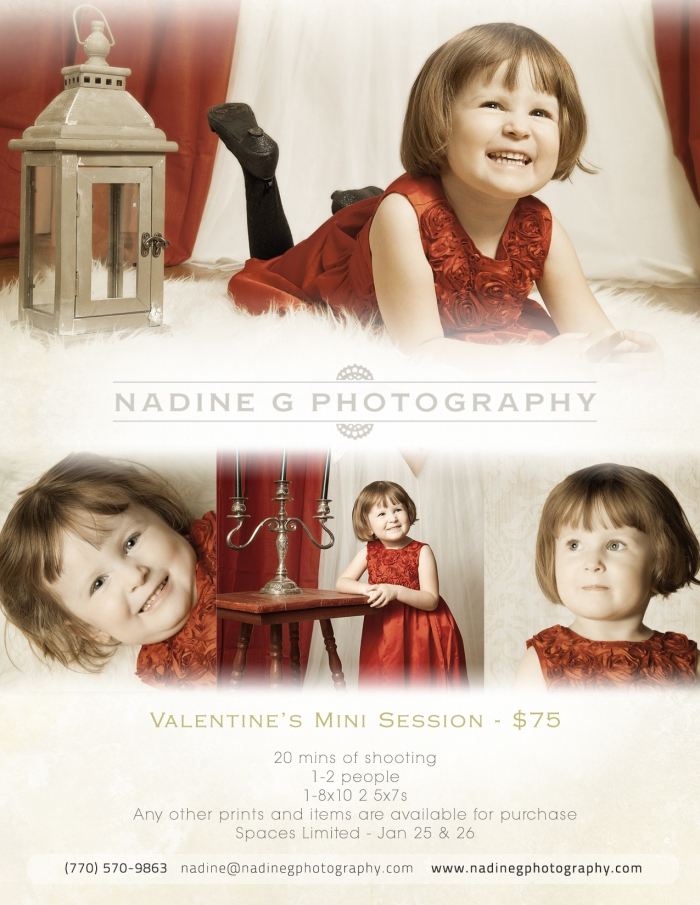 Atlanta, GA Valentine's Mini Sessions