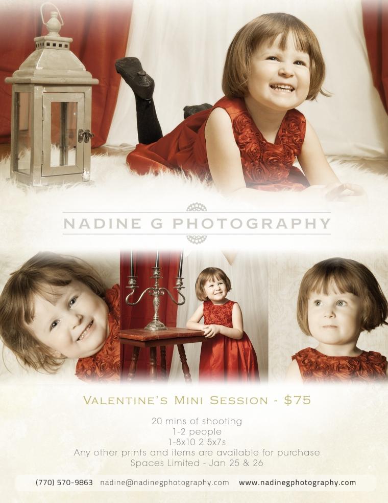 Atlanta, GA Valentine's Mini Sessions