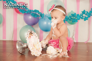 Duluth, Lilburn, Buford, Flowery Branch 1-year old photos, Smash Cake Session, Child photographer