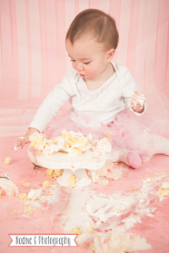 Cake Smash photographer in North Atlanta