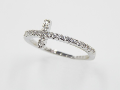 Sideways Cross ring from North Georgia Jewelry
